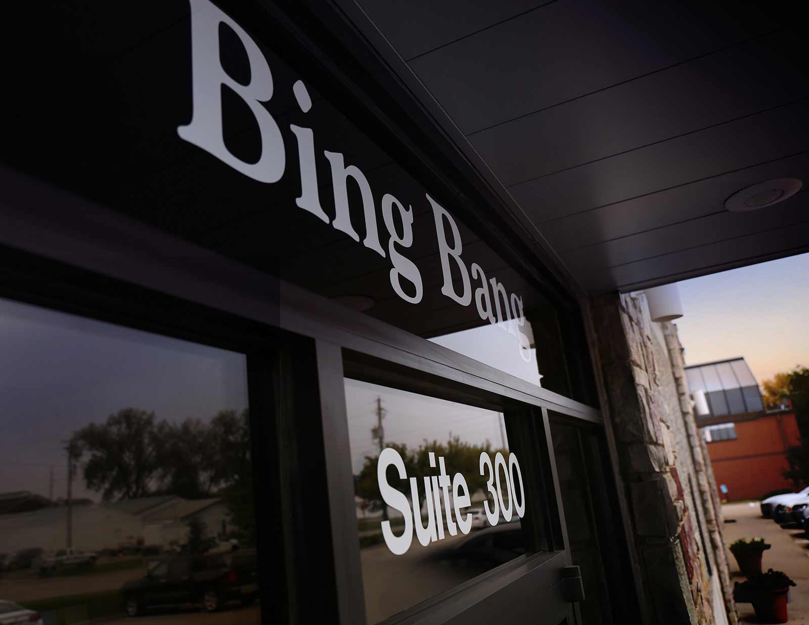 Bing Bang is a Des moines video production and marketing agency