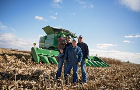 Bing Bang's Des Moines videography team captured harvest on an Iowa corn farm